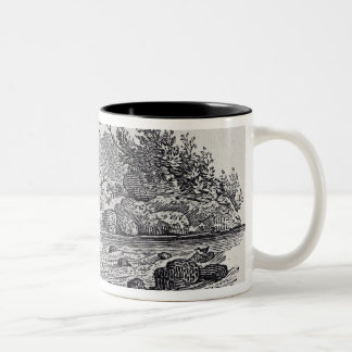 A Bend in the River from 'History of British Two-Tone Coffee Mug