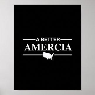 A Better Amercia Logo -.png Print