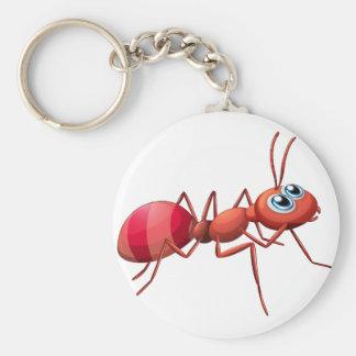 A big ant crawling keychain