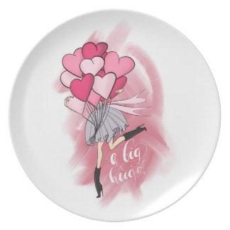 A Big Hugs Plate