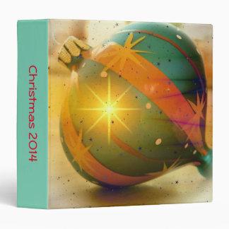 A Big Shiny Christmas Ornament 3 Ring Binder