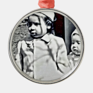 A Big Sister will always be there for you! Metal Ornament