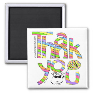 A BIG THANK YOU - SORBET COLORS Magnet
