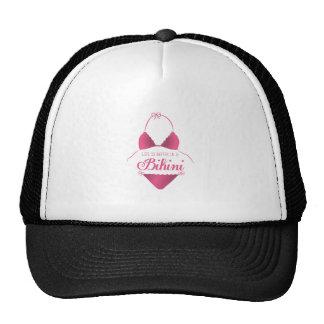 A Bikini Trucker Hat
