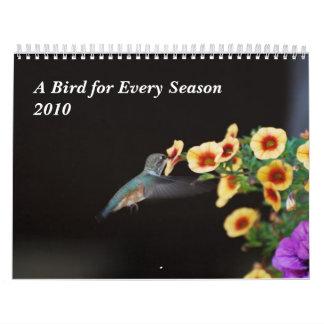 A Bird for Every Season Wall Calendars