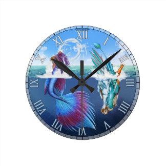 A Bird may love a Fish Clock