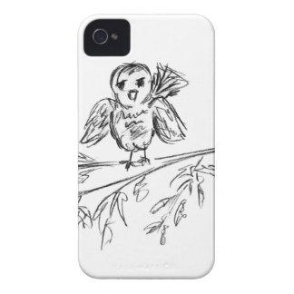 A Bird, The Original Tweet iPhone 4 Case-Mate Cases