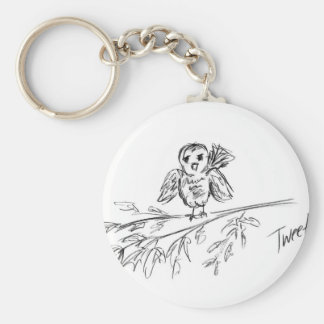 A Bird, The Original Tweet Keychain