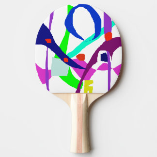 A Birdcage Ping-Pong Paddle