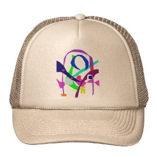 A Birdcage Trucker Hat
