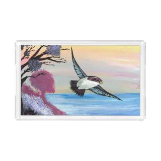A Birds View Acrylic Tray