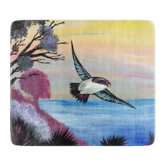A Birds View Cutting Board