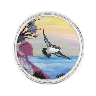A Birds View Lapel Pin