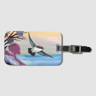 A Birds View Luggage Tag