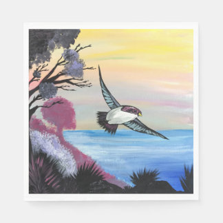 A Birds View Paper Napkin