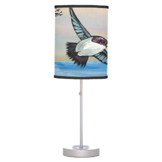 A Birds View Table Lamp