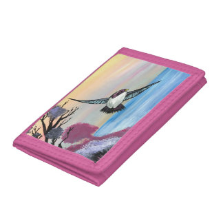 A Birds View Trifold Wallets