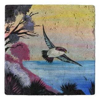 A Birds View Trivet