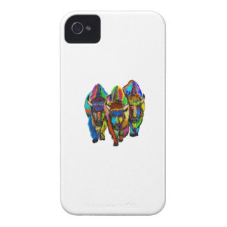 A Bison Trio iPhone 4 Case-Mate Cases