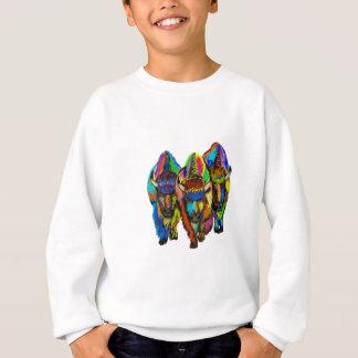 A Bison Trio Sweatshirt
