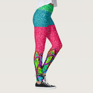 A Bit of Bling Pop Fashion Leggings