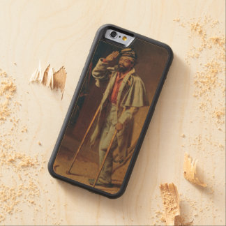 A Bit of War History: The Veteran by T.W. Wood Carved Maple iPhone 6 Bumper Case