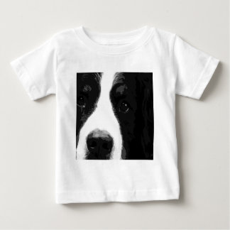 A black and white Bernese mountain dog Baby T-Shirt