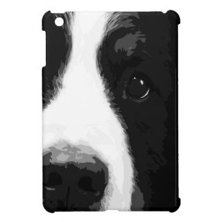 A black and white Bernese mountain dog Cover For The iPad Mini