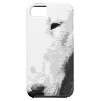 A black and white Bull terrier iPhone 5 Covers