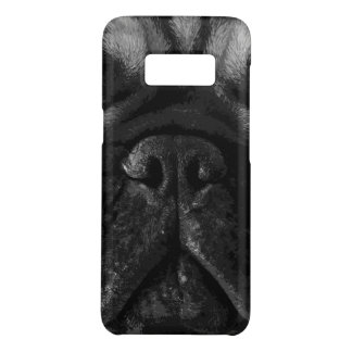 A black and white French bulldog Case-Mate Samsung Galaxy S8 Case