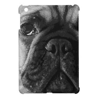 A black and white French bulldog iPad Mini Cover