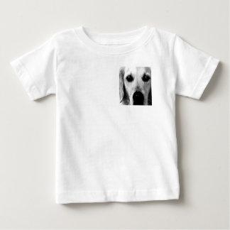 A black and white Golden retriever Baby T-Shirt