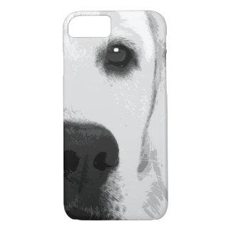 A black and white Labrador retriever Case-Mate iPhone Case