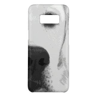 A black and white Labrador retriever Case-Mate Samsung Galaxy S8 Case