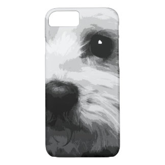A black and white Maltese Case-Mate iPhone Case