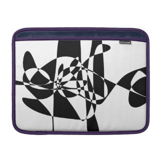 A Black Fish MacBook Air Sleeve