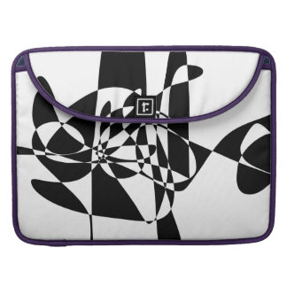 A Black Fish MacBook Pro Sleeve