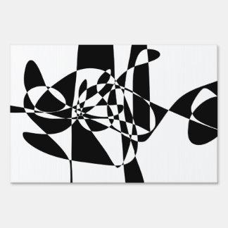 A Black Fish Sign