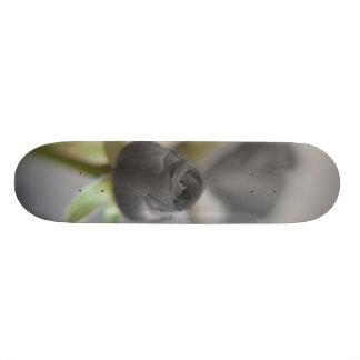A black rose for your sweetheart... custom skate board