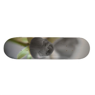 A black rose for your sweetheart... skate deck