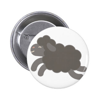 A Black Sheep 2 Inch Round Button
