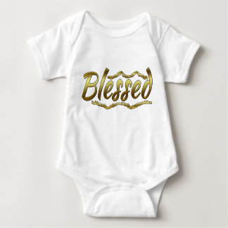 A Blessed Baby Jersey Bodysuit is an Ideal Gift