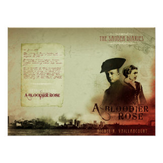 """""""A Bloodier Rose"""" - Cover Art Wall Poster"""
