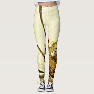 A Blossoming Personality Leggings