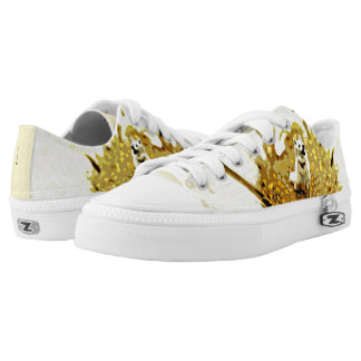 A Blossoming Personality Zipz Low Top Shoes