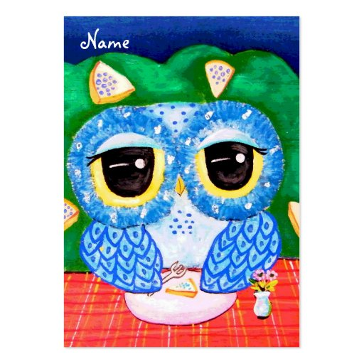 A Blueberry Night Business Card