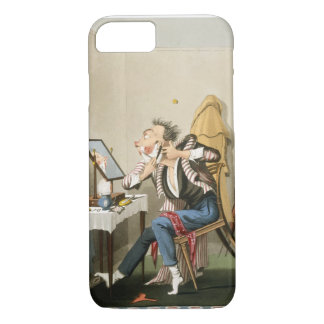 A Blunt Razor, pub. by Hunt, 1827 (coloured etchin iPhone 7 Case