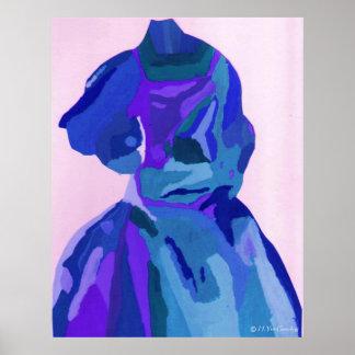 """A. Boleyn Blue Dress I"" Poster - Customizable Posters"