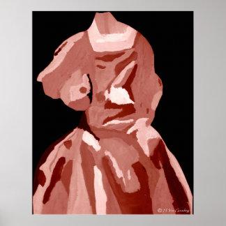 """""""A. Boleyn Neutral Dress"""" Poster -Customizable"""