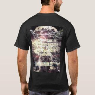 A-bomb Not Worried black shirt back